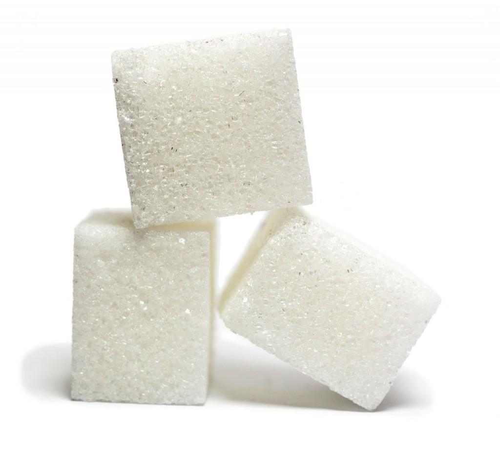 Drei Zuckerwürfel