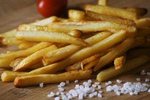 Pommes frites, nah